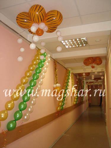 Как украсить коридор на новый год своими